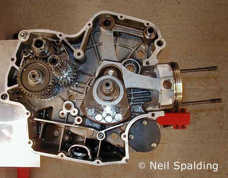 Ducati Supermono Engine